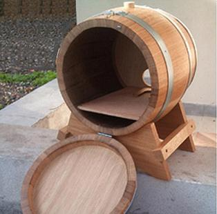 barrels for bag of wine