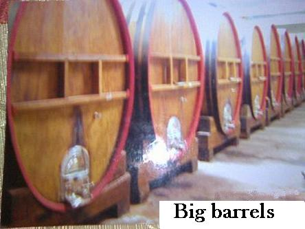 big wine casks