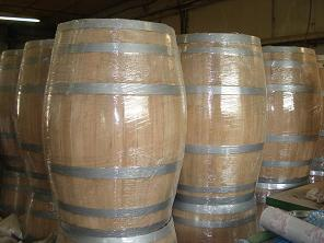 reconditioned wine barrels